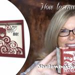 VIDEO: How to make a Shadowbox Santa Card