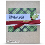 CARD: Holly Berry Happiness Christmas Card