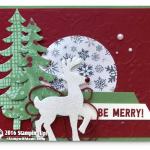 CARD: Santa's Sleigh Be Merry Holiday Card