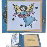 CARD: Wonder of Christmas Z-Fold Angel Card