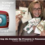The Stampin Scoop Show – Episode 24 – Presents & Pinecones Suite