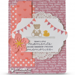 CARD: Little moments baby card from the Bookcase Builder Set