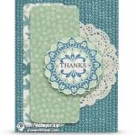 CARD: Thanks from Make a Medallion SAB Card