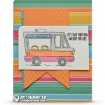 CARD: Tasty Trucks Taco Food Truck Card