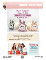 2017-01 Stampin Up Paper Pumpkin Alternate Card March-stampwithtami