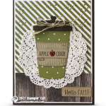 CARD: Apple Cider from the Merry Cafe Stamp Set – Part 2 of 2