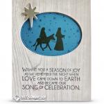 CARD: Season of Joy from Night in Bethlehem Stamps