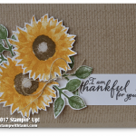 CARD: Thankful for you card from the Painted Harvest Bundle