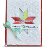 CARD: Merry Christmas from the Quilted Christmas Bundle