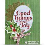 CARD: Beautiful Good Tidings of Great Joy Card
