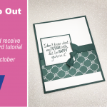 FUNDRAISER: 8th Annual Stamp Out Breast Cancer Giveaway & Free Tutorial