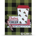 CARD: Christmas Cheer Card and Stampin Up On Stage Event News