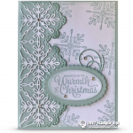 CARD: Wrapped in Warmth from the Snowflake Sentiments Stamp Set