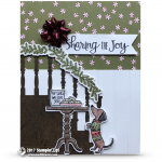 CARD: Sharing the Joy Doggie from the Ready for Christmas Bundle
