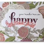 SNEAK PEEK: You Make Me Happy Card from Sale-a-Bration Happy Wishes