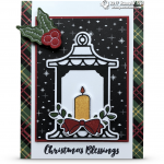 CARD: Christmas Blessings from the Seasonal Lantern Bundle