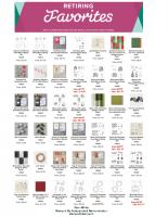 Retiring Holiday Catalog Products