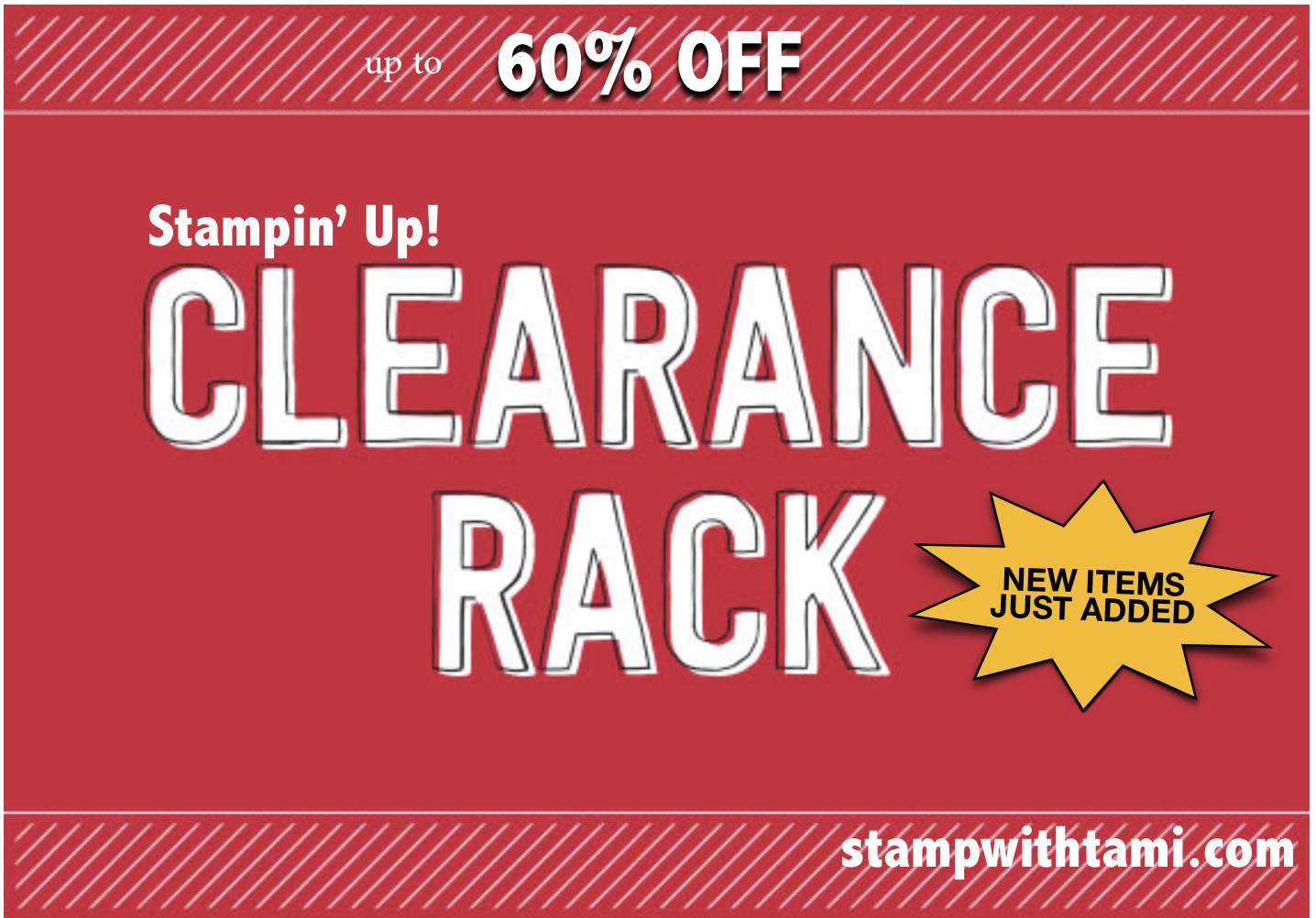 Sale up to 60 off my clearance rack has just been for Clearance craft supplies sale