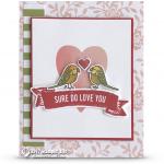 CARD: Sure Do Love You from the Bird Banter Set