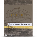 SNEAK PEEK: Home is wherever I'm with you card from Cozy Cottage