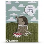 CARD: Sending Hedgehugs Your Way Card