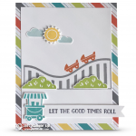 SNEAK PEEK: Let the Good Times Roll Card