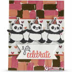 CARD: Let's Celebrate with the Sale-a-bration Party Pandas