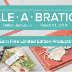 New Sale-a-Bration Products Released – February 16 – March 31