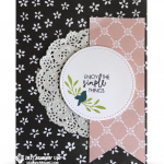CARD: Enjoy the Simple Things from the Yay You stamps
