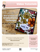 Cracked Glass Technique -stampwithtami-stampin up copy