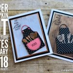 ONLINE CLASS & VIDEO: January 2018 Paper Pumpkin Kit, Alternate Card Set & Giveaway