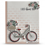 CARD: I Just Adore You from the Bike Ride Stamps – Card 1 of 2