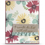 RETIRING: I'd be Love Without You Card from Blooms & Wishes Stamps