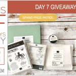 DAY 7 of 8 Days of Giveaways in May – 2 prizes a day, entry and details here