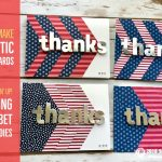 BLOG HOP & GIVEAWAY: Patriotic Thank You Cards from the Layering Alphabet Dies