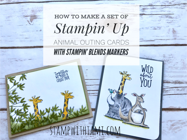 How To Make A Set Of Stampin Up