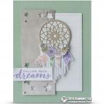 CARD: Follow Your Dreams Dream Catcher Card