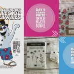 DAY 5 of 10 Days of Xmas in July Giveaways  – 2 prizes a day, entry and details here