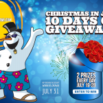 10 Days of Xmas in July Giveaways Winners Revealed