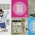 DAY 1 of 10 Days of Xmas in July Giveaways  – 2 prizes a day, entry and details here