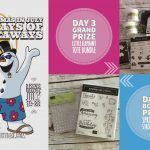DAY 3 of 10 Days of Xmas in July Giveaways  – 2 prizes a day, entry and details here
