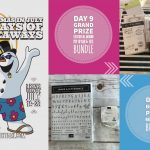 DAY 9 of 10 Days of Xmas in July Giveaways  – 2 prizes a day, entry and details here