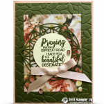 CARD: Praying on this difficult road with the Petal Promenade Suite