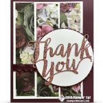 CARD: Thank you Thinlits meet the Petal Promenade DSP – new