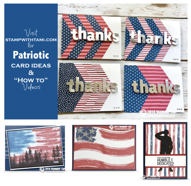 Patriotic Thank You Cards