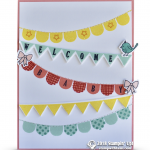 CARD: Adorable Welcome Baby Card from Pick a Pennant Stamps