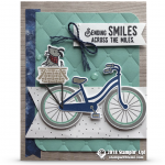 CARD: Sending Smiles Card from the Bike Ride Bundle