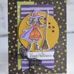 CARD: Happy Halloween from the Cauldron Bubble Stamp Set