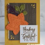 CARD: Grateful Heart from the Falling for Leaves Bundle