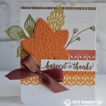 CARD: Harvest of Thanks from the Falling for Leaves Bundle